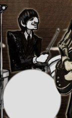 drawing of Ringo Starr by Sean Gallo
