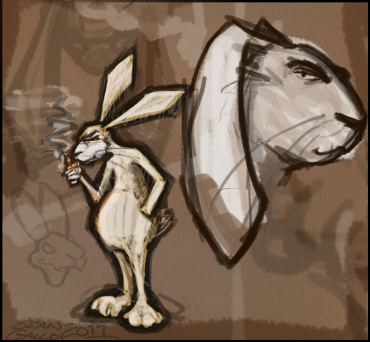 dirty_white_rabbit_sketch_idea